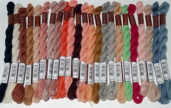 DMC Medici Wool - 27.6 yard (25 meter skeins) - Set of 20 colors