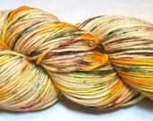 "Hand dyed Sock Yarn ""Meadowlark"""
