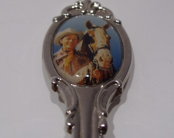 Roy Rogers and Trigger Souvenir Spoon Made in USA