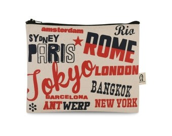 cities of the world pouch