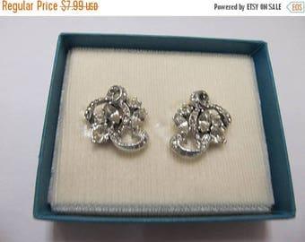 On Sale Vintage Sparkling Rhinestone Earrings Item K # 2469