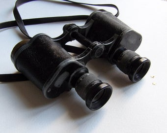 Vintage Carl Zeiss Binoculars, 1930s German Binoculars, Rare, Collectible
