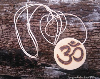 Om Cedar Pendant Necklace/Jewellery