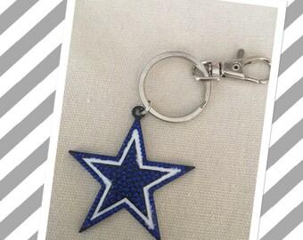 Dallas  owbous Star Keychain