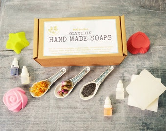 Make Your Own Soap Kit, DIY Soap, Melt and Pour Soap Kit, Craft Kit