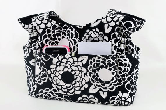 Shoulder Bag Purse Floral Quilted Bag Fabric Handbag Made : quilted handbags made in usa - Adamdwight.com