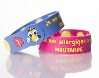 Je suis allergique à la MOUTARDE