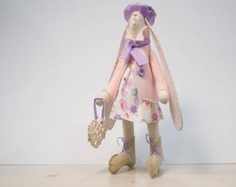 bunny / rabbit toy  / decoration handmade