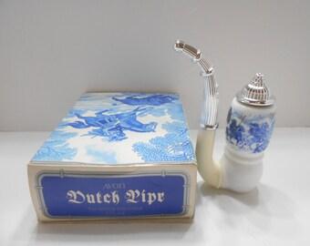Vintage Avon Dutch Pipe (1) Tai Winds Avon Cologne For Men