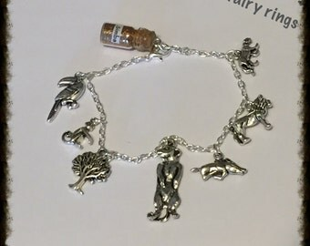 Lion King Insired Story Charm Bracelet