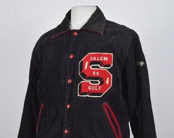 1980s Varsity Corduroy Jacket (DOWN FROM 39.99)