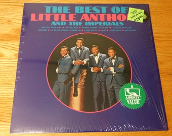 Vintage The Best of Little Anthony and the Imperials Vinyl Record Album RE