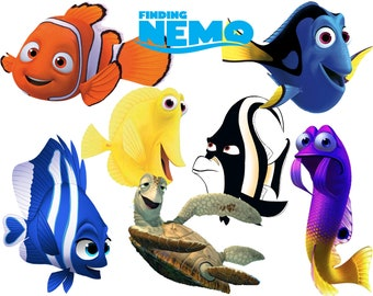Finding nemo clipart | Etsy