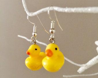 Cute Duck Earrings