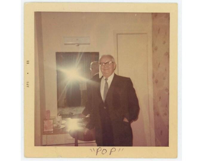 "Vintage Snapshot Photo: ""POP."" Frank, San Francisco, April, 1969 (75577)"