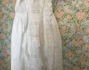 Lovely little Antique Baby Robe.