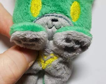 Cutie plush Voltron-inspired kitty (Pidge, Keith, Lance, Hunk, Shiro, or all 5)