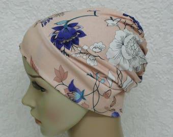 Women's beanie, summer beanie, bad hair day hat, lightweight beanie, viscose jersey hat, chemo beanie