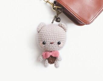 Keychain Amigurumi an Innocence Bear