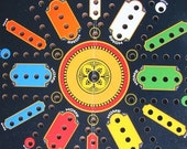 Vintage Aggravation Game Board Kitsch Family Room Decor Wall Decor