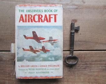 Aircraft Vintage The Observers Book of Aircraft 1960