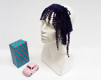 Women Tulle, Yoga Headband, Cotton Hair Wrap, Beach Women Scarf, Spring Cotton Scarf, Boho Head Wrap, Wide Hair Wrap Yoga, Hippie Bandana