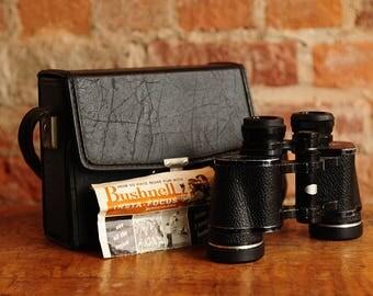 Vintage Bushnell 7x35 Binoculars w/case