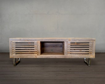 Reclaimed Wood Media Console, TV Stand