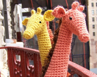 Crochet Giraffe Pattern-Instant Download Crochet Pattern-Toy Giraffe Pattern-Amigurumi Giraffe-DIY Crochet Toy-Stuffed Toy Animals