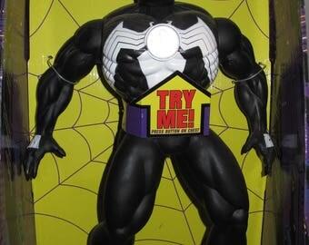 """Vintage Spider-Man Marvel Comics 16"""" Talking Venom"""
