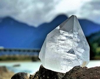 Mini APOPHYLLITE PYRAMIDS, APOPHYLLITE Tips,  Raise your vibration, Meditation Stone, Meditation Crystals, Pineal Gland Crystal