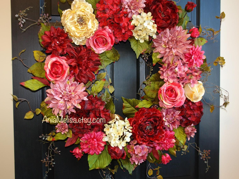 Front door decorations for spring -  Zoom