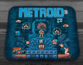Metroids Mousepad