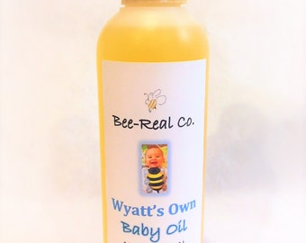 All Natural Baby Oil