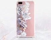 iPhone 7 Case Crystals Clear GRIP Rubber Case iPhone 7 Plus Clear Case iPhone 6 Case iPhone 6S Case iPhone SE Case Samsung S7 Edge U216