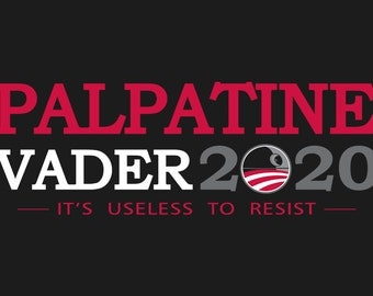 Palpatine / Vader 2020 election t-shirt
