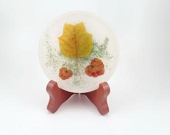 Tulip Leaf Handmade Resin Coaster FI0276
