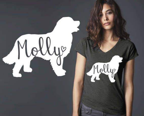Bernese Mountain | Bernese Mountain Dog | Dog Shirt | Dog Lover Gift | Custom T-shirts | Personalized T-shirts | Korena Loves