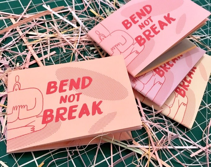 Featured listing image: Bend Not Break Pocket Zine