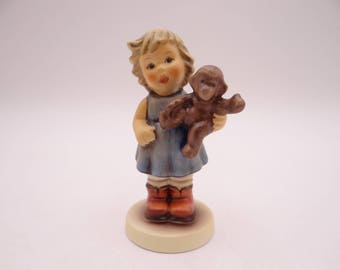 "Mint Vintage Goebel Hummel ""Monkey Business"" Figurine - #2069/A with Original Box"