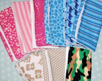 Burp Cloths - SET OF THREE