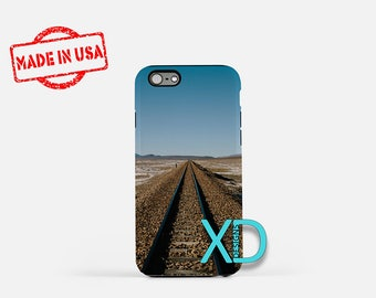 Train Track iPhone Case,  Rusty iPhone Case, Grungy iPhone 8 Case, iPhone 6s Case, iPhone 7 Case, Phone Case, iPhone X Case, SE Case