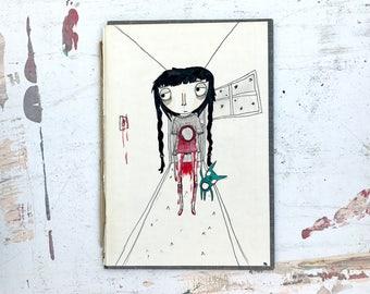Deep Sleep - Original Illustration