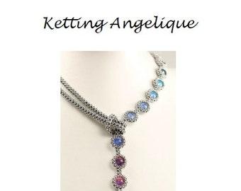 Beading Pattern Necklace Angelique PDF (Dutch)