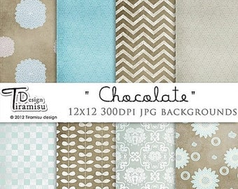 ON SALE Scrapbook Papers and Digital Paper Packs