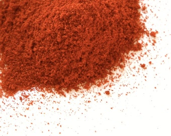 Paprika Powder, Smoked - Capsicum - Roasted Pepper - Spicy, Zesty, Culinary - Sauce, Salsa, Tamales, Meat, Rice, Soups, Eggs