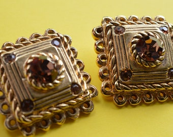 Vintage Earrings by CLAIRE DEVE PARIS 1980s
