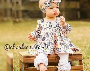 Baby's/girls Blakely Bow Top