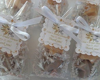 20 Starry Night Party Soap Favors, 40 Soaps, Love, Romance, Special Occasions, Showers, Birthday Party, Silver & Gold