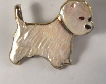 Westie puppy pin raises money for the Humane Society